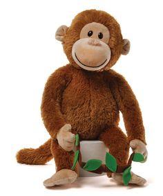 Look at this #zulilyfind! Brown Murdock Monkey Plush Toy #zulilyfinds