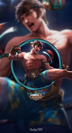 Wallpaper Phone Chou King of the Fighter by FachriFHR, Pugb Mobile, Wallpaper Phone Chou King of the Fighter by FachriFHR Source by Mobile Legend Wallpaper, Hero Wallpaper, Wallpaper Backgrounds, Wallpaper Desktop, Disney Wallpaper, Wallpaper Quotes, Hero Fighter, Miya Mobile Legends, Alucard Mobile Legends