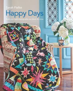 Happy Days Book - Sarah Fielke - Hyggeligt Fabrics