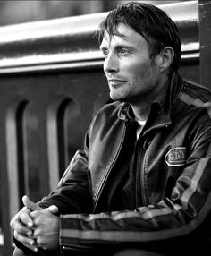 Beautiful pics I would love to meet him one day and be the photographer. Mads Mikkelsen, Danish, male actor, celeb, hands, fingers, powerful face, intense eyes, hot, sexy, portrait, photo b/w.