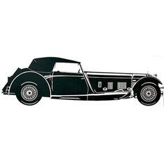 Classic Car Mural