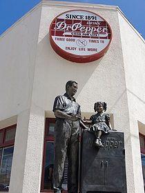 Dublin Dr Pepper - Wikipedia, the free encyclopedia  #dr_pepper #dublin_bottling