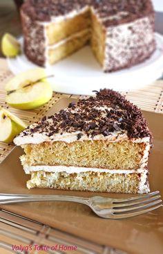 """""""Apple"""" Cake http://valyastasteofhome.com"""