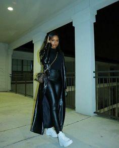 Baddie Outfits Casual, Cute Casual Outfits, Stylish Outfits, Winter Fashion Outfits, Fall Outfits, Autumn Fashion, Black Girl Fashion, Look Fashion, Mode Streetwear