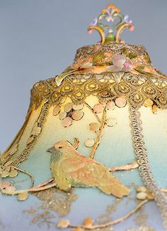 SOLD Do Not Purchase Victorian Lampshade with by nightshades
