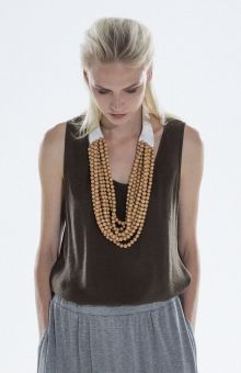 Elk   Wood & Leather Necklace