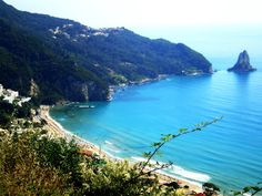 Agios Gordios Corfu Greece - paradise - where john proposed - must go back soon! Great Places, Places To See, Beautiful Places, Beautiful Life, Agios Gordios, Corfu Holidays, Travel Around The World, Around The Worlds, Greece Travel