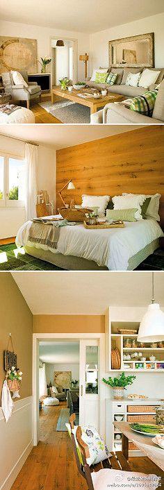 充满田园气息的家居设计,让整栋房子生机…