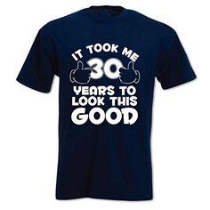 Bang Tidy Clothing Men's It Took Me 30 Years 30th Birthday T Shirt Navy S BANG TIDY CLOTHING http://www.amazon.co.uk/dp/B00TFRLMX8/ref=cm_sw_r_pi_dp_0krovb137EXHS