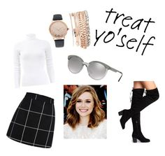 """""""Treat yo' self"""" by emmamarie14 on Polyvore featuring Versace, Michael Kors, Olsen and Jessica Carlyle"""