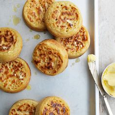 Homemade crumpets... yes please!