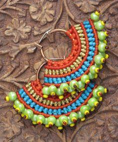PHOENIX Macrame Earrings