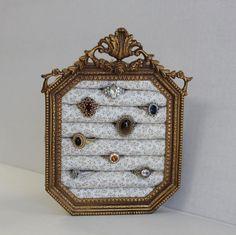 Wall Hanging Jewelry Organizer large hanging jewelry organizer | wall jewelry organizer | wall