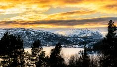 January scenery by Knut Trondsen on Norway, Scenery, January, Mountains, Landscape, Country, Nature, Pictures, Photography