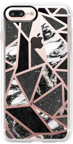 Casetify iPhone 7 Plus Case and iPhone 7 Cases. Other Pattern iPhone Covers - Chic Modern B&W by BlackStrawberry | Casetify