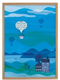 My Lovely Spot Balloon Poster