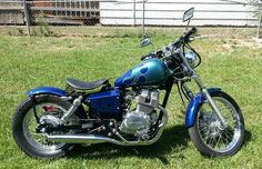 - 2004 Honda Rebel Custom Bobber 250 - would be my dream bike if only it was red! I still want it!!!