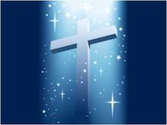Image detail for -Cross with light and shining stars MySpace Background