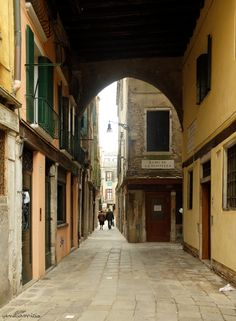 calle del Fontego del Curame ©VenetiaMicio