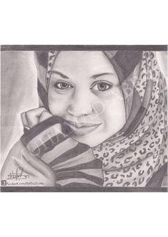 Manal Assaad #portraits #drowing #art #pencil #arts