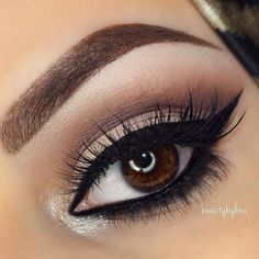 Smokey Vanilla Eye ❤ liked on Polyvore featuring beauty products, makeup, eyes, eye makeup, beauty and eye make up