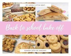 Back To School Bake Off - Recipes - Mumspo Mag Bake Off Recipes, Gourmet Recipes, Sweet Recipes, Cooking Recipes, Healthy Recipes, No Bake Snacks, Savory Snacks, No Bake Desserts, Kumquat Confit