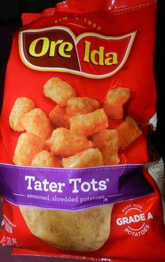 Ore-Ida Tater Tots. Received free in my #JingleVoxBox courtesy of #influenster.