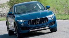The Maserati Levante, the brand's first SUV