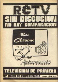 Publicidad RCTV AÑOS 80