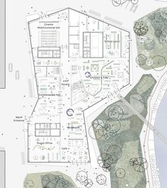 Image 6 of 8 from gallery of New Culture Centre and Library Winning Proposal / schmidt hammer lassen architects. ground floor plan