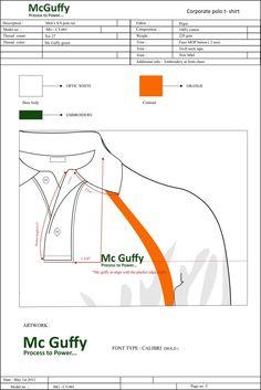 Fashion - Technical spec by Sandhyaa Shirodkar at Coroflot.com