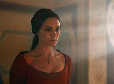 Annabel Scholey as Contessina de Bardi in Medici: Masters of Florence (I Medici)
