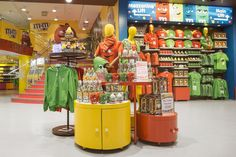 M&Ms World VM concept by Global Display London  UK