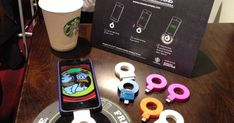Charge your phone wirelessly at Starbucks. Interesting concept, but who wants to use a plug-in dongle that makes you have to keep the iphone laying flat on the table. Maybe an improvement might be a USB hub that could be attached to a table that you could plug your own charge cord into. Just an idea...