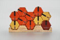 六角形 蜂蜜罐   MyDesy 淘靈感