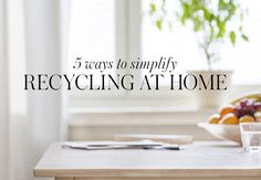 Getting your kids to recycle snack wrappers and scrap paper isn't always easy, but thanks to these five hacks from Danny Seo, editor in chief of Naturally, Danny Seo, it'll be child's play. According to Seo, the key is to make recycling as convenient and accessible as possible. By strategically placing bins in different areas …