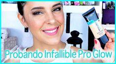 Probando la nueva base Infallible pro Glow de L'oreal | Silvia Quiros Ma...