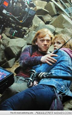 15 Amazing Behind-The-Scenes Potter Pics