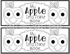 Apple Tens Frame Booklet freebie {Kindergarten}