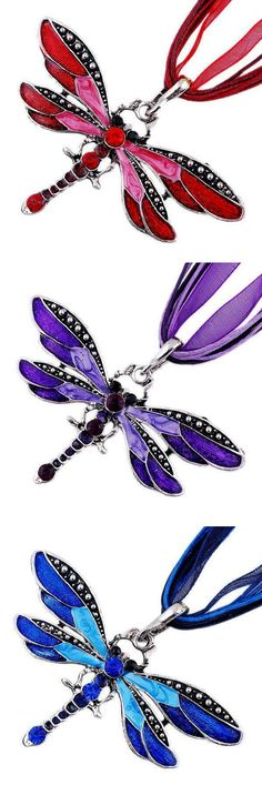 Love Dragonflies? Then this is Dragonfly necklace is for you. Get yours now at 50% off! Today only!