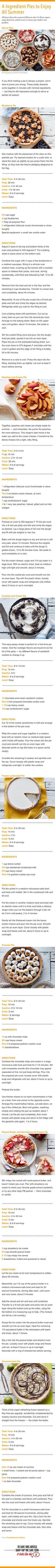 4 ingredient pies