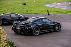 McLaren P-1 from the back.