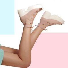 YAS GIRL. Pink chunky sandals ready for the summer adventures! Korky's Shoes D33 Pink Sandals #fashion #korkysshoes #korkys #shoes #sandals #laceup #pink #chunky #chunkysandals #heels
