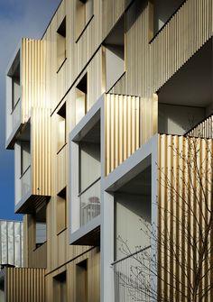 An Urban Block Designed by Hamonic + Masson & Associés http://parisdesignagenda.com/urban-block-designed-hamonic-masson-associes/ #architecture #design #architecturaldesign