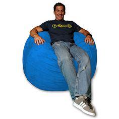 Bean Bag Chair Color: Royal Blue - http://delanico.com/bean-bag-chairs/bean-bag-chair-color-royal-blue-519251820/