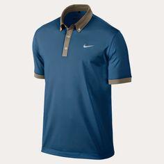 Ultra Polo 2.0 Nike para golf, color azul tecnologia Dri-Fit #pologolf #polonikegolf