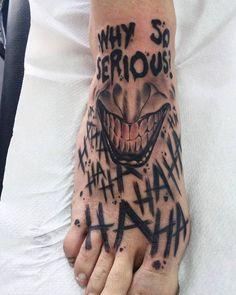 DC Jocker Batman Tattoo Tatuajes