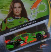 NASCAR AUTHENTICS #7 DANICA PATRICK GO DADDY CAR FREE SHIPPING!!! Danica Patrick, Nascar, Arcade Games, Hot Wheels, Diecast, Daddy, Lunch Box, Free Shipping, Bento Box