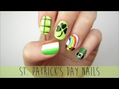 Nail Art for St. Patrick's Day: A Mini Guide! Five fun and festive designs to help you celebrate St. Paddy's Day :)Use the hashtag cutepolish to show me your recreation!FACEBOOK:http://www.facebook.com/cutepolishTWITTER:http://www.twitter.com/cutepolishINSTAGRAM:http://www.instagram.com/cutepolishHave a wonderful St. Patrick's Day! XO