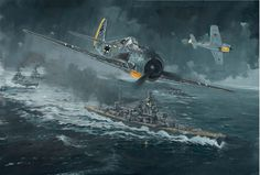Adolf Galland en su Fw-190 en la carrera del Canal.